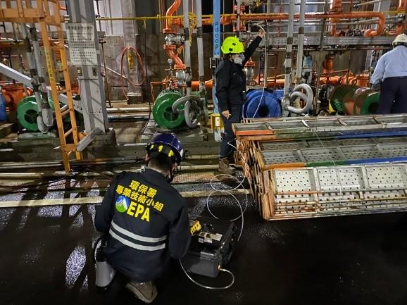 高雄市林園區某公司1,2-二氯乙烷洩漏事故