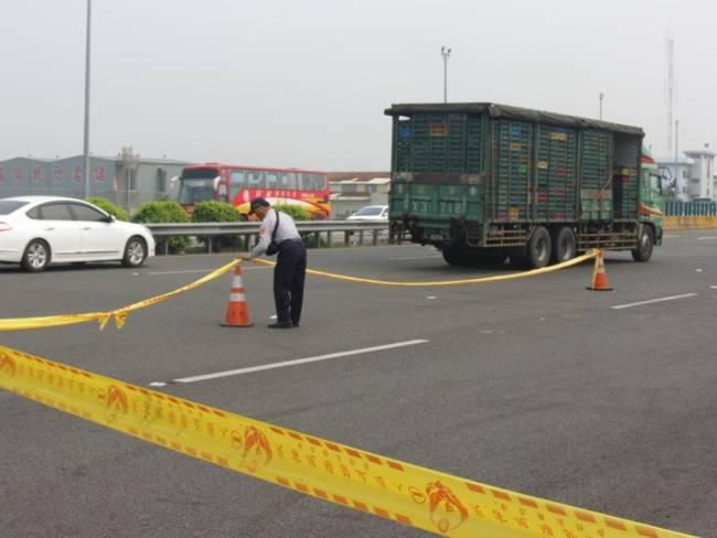 事故現場交通管制