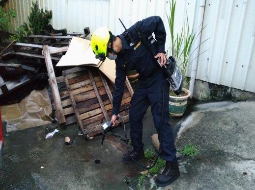 FID偵檢鄰近排水溝