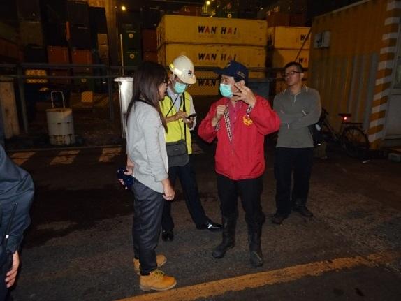 與港務公司及港務消防隊進行現況討論會議