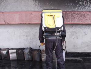 紅外線熱影儀拍攝事故現場受波及溶劑桶結果