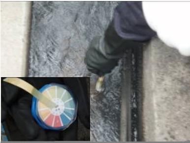 廠內廢水廠pH值檢測