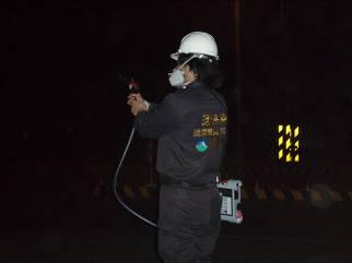 事故現場FID監測