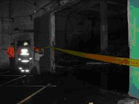 事故現場管制情形