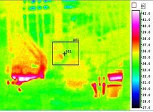 熱影像儀現場監測