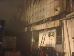 消防人員殘火處理