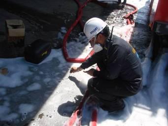 事故地點廢水pH監測