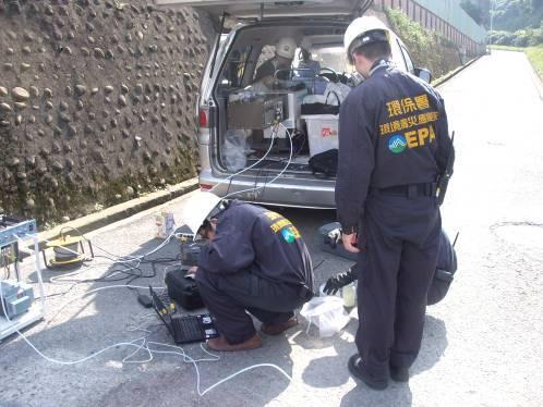 事故現場固液相FTIR偵測