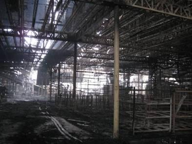 廠房損毀狀況