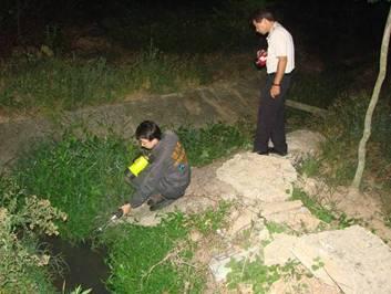 監控社區外圍水溝