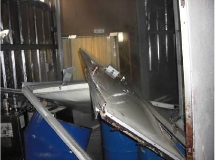 事故現場建築物毀損