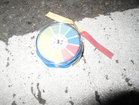 溝渠廢液之pH量測