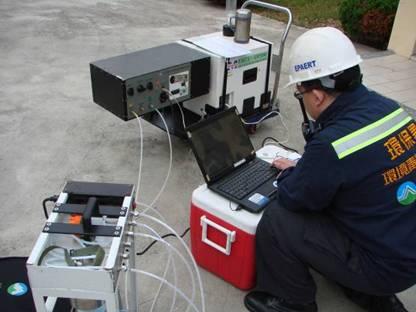 下風處FTIR空氣監測