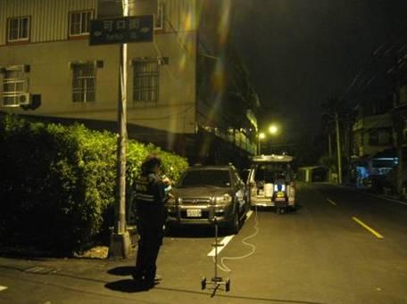 於下風處OO街進行FTIR監測