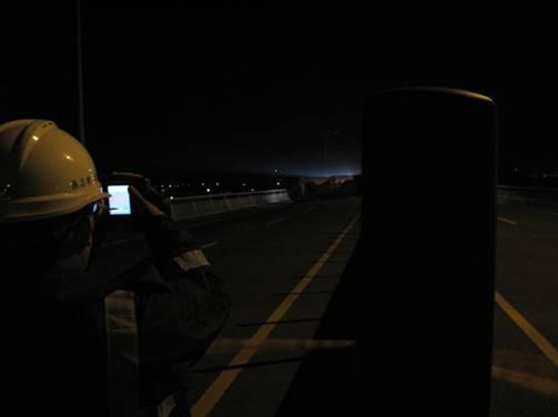 事故槽車熱影像儀監測
