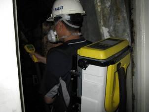 使用氣相層析質譜儀進行空氣檢測