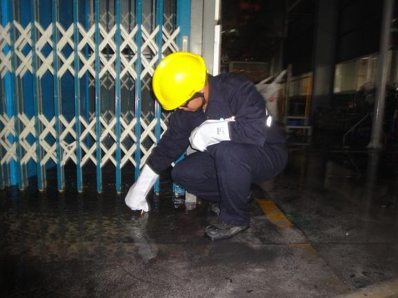 pH測試消防廢水