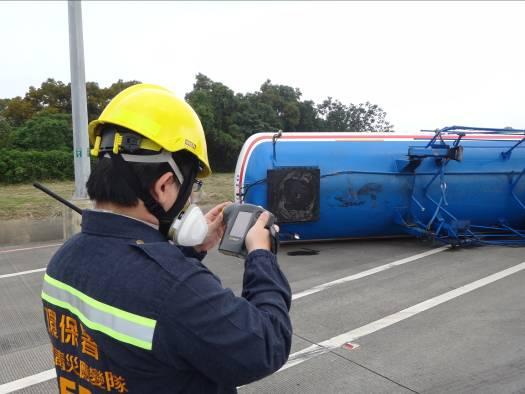 對車體使用熱影像監測