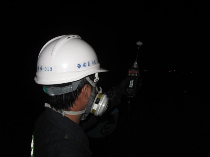 事故現場PID檢測