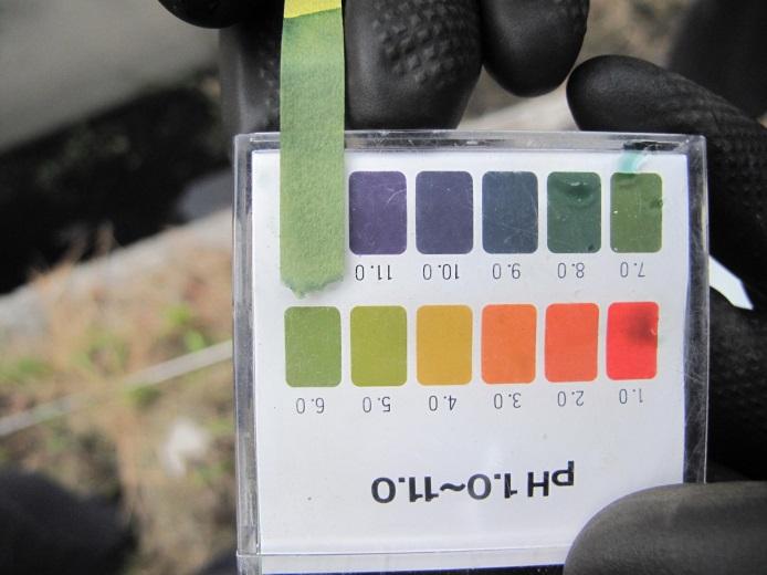 現場pH檢測作業