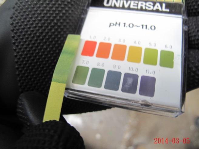 消防廢水pH值分析