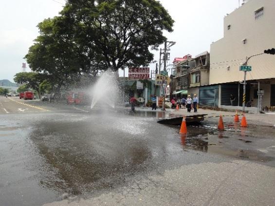消防架設水線警戒