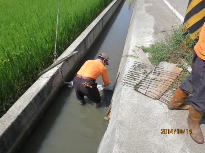 消防廢水圍堵作業