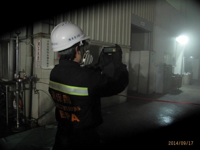四用氣體偵測器量測