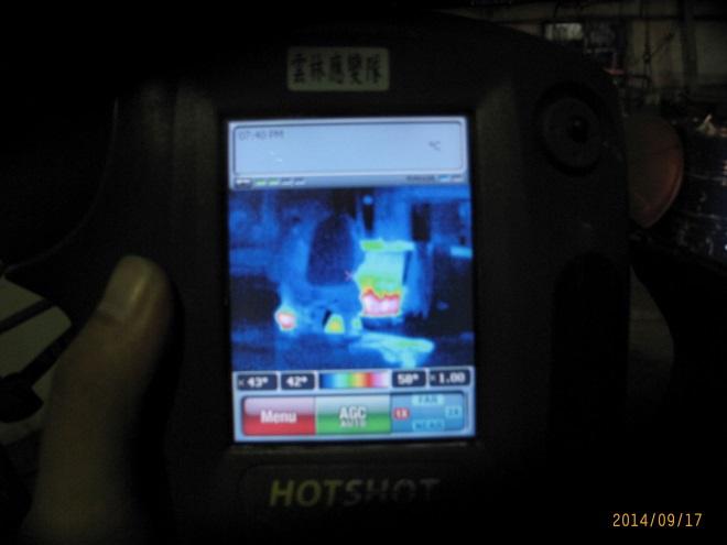 紅外線熱影像儀量測