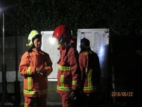 消防指揮站