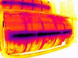 紅外線熱像儀觀測圖