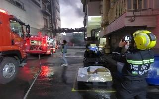 桃園市龜山區某電子公司火警事故